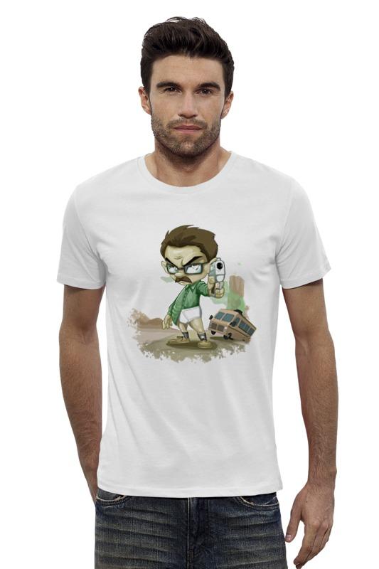 Футболка Wearcraft Premium Slim Fit Printio Heisenberg (breaking bad) футболка wearcraft premium slim fit printio god of meth breaking bad