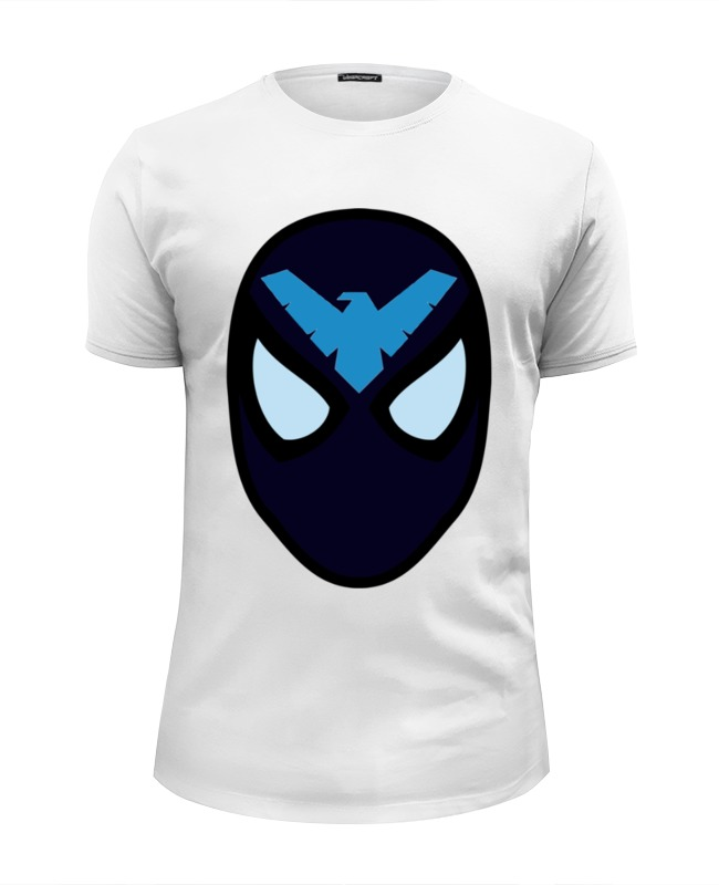 Футболка Wearcraft Premium Slim Fit Printio Найтвинг (nightwing) сумка printio найтвинг nightwing
