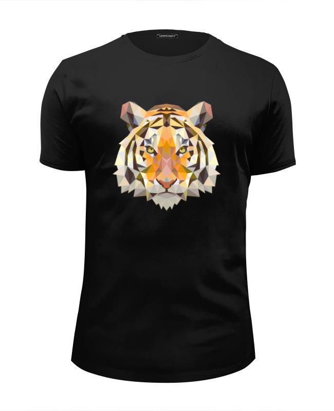 Футболка Wearcraft Premium Slim Fit Printio Тигр футболка wearcraft premium printio тигр