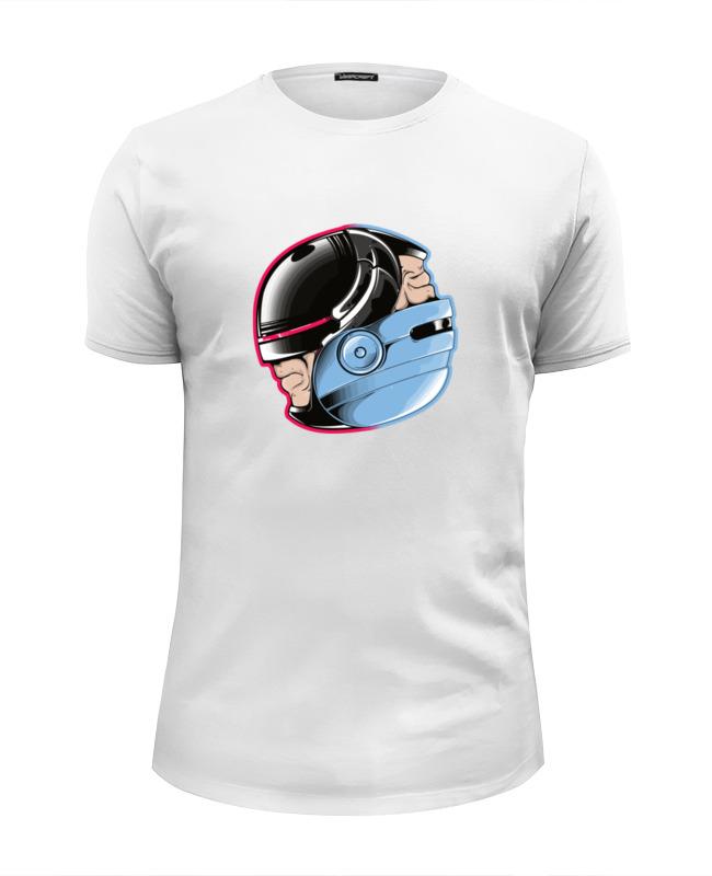 Футболка Wearcraft Premium Slim Fit Printio Робокоп (robocop) цена и фото