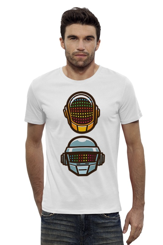 Футболка Wearcraft Premium Slim Fit Printio Daft punk футболка wearcraft premium printio punk rock