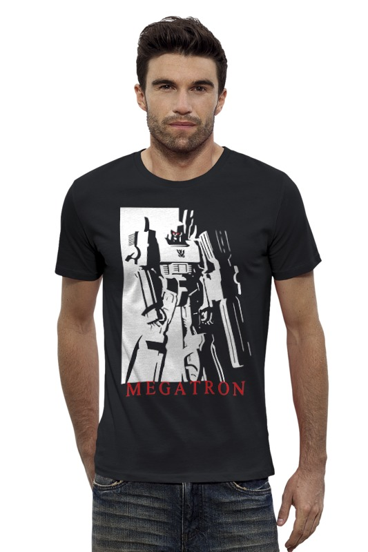 Футболка Wearcraft Premium Slim Fit Printio Мегатрон сумка printio мегатрон мегамен