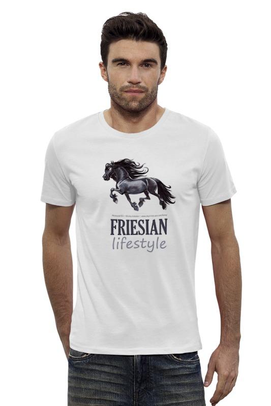 Футболка Wearcraft Premium Slim Fit Printio Friesian купить щебень на севере москвы