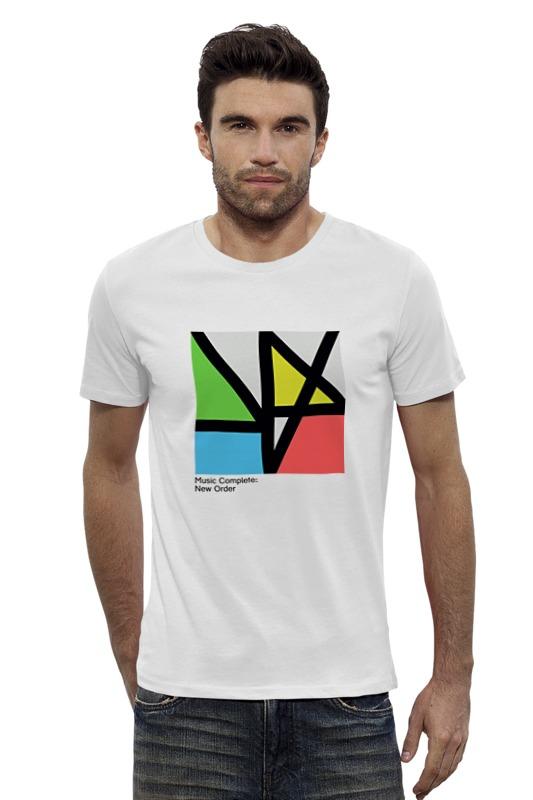 Футболка Wearcraft Premium Slim Fit Printio New order / music complete new order new order get ready