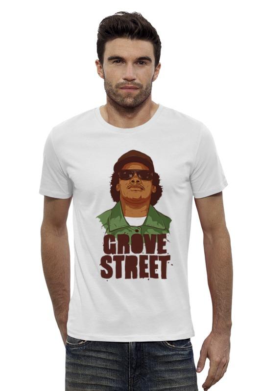 Футболка Wearcraft Premium Slim Fit Printio Grove street 4 life