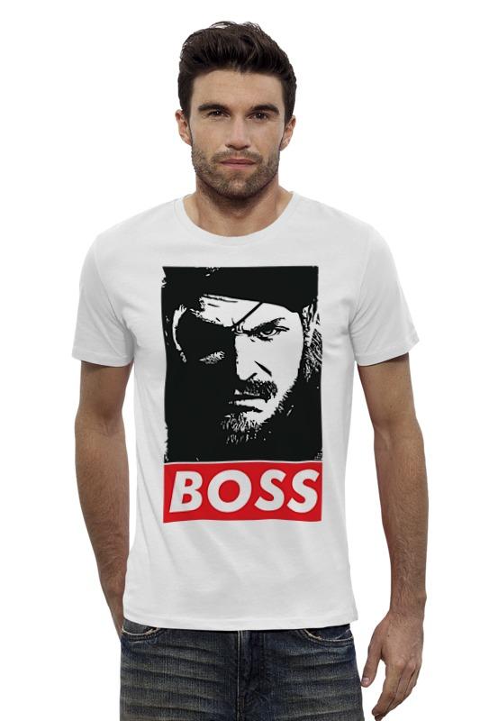 Футболка Wearcraft Premium Slim Fit Printio Boss футболка wearcraft premium slim fit printio sans boss