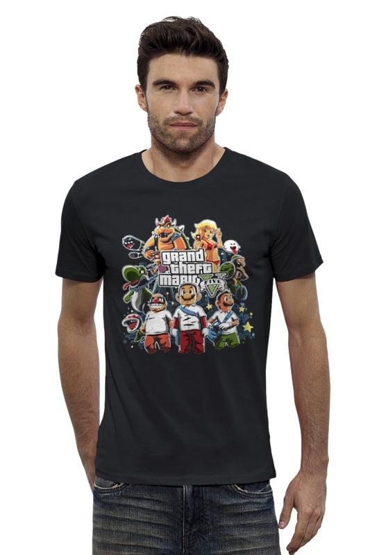 Футболка Wearcraft Premium Slim Fit Printio Mario gta футболка классическая printio mario gta