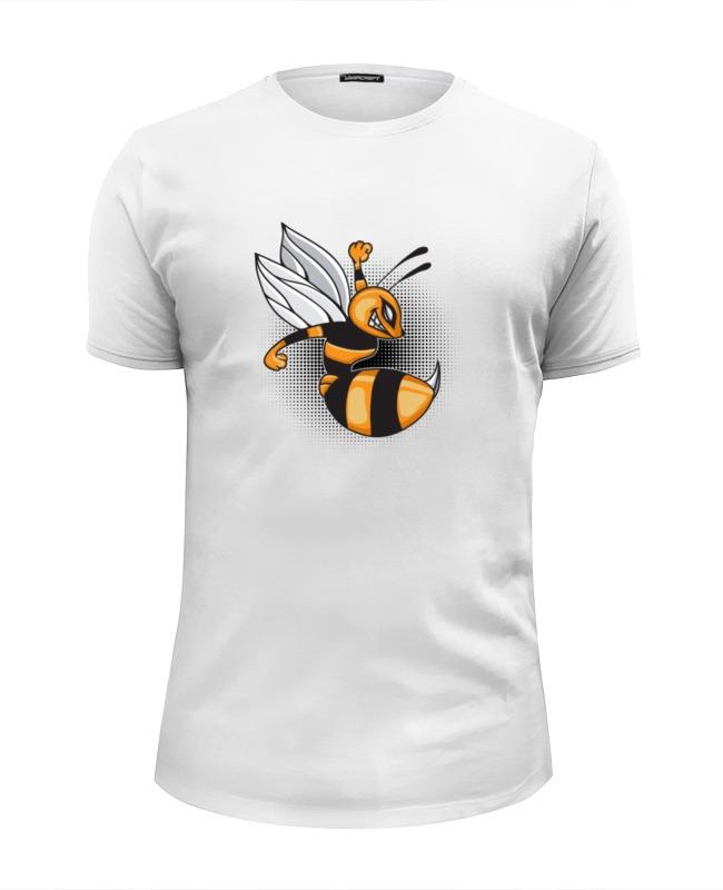где купить Футболка Wearcraft Premium Slim Fit Printio Злая пчела по лучшей цене