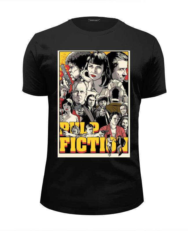 Printio Криминальное чтиво(pulp fiction) футболка wearcraft premium slim fit printio утиное чтиво