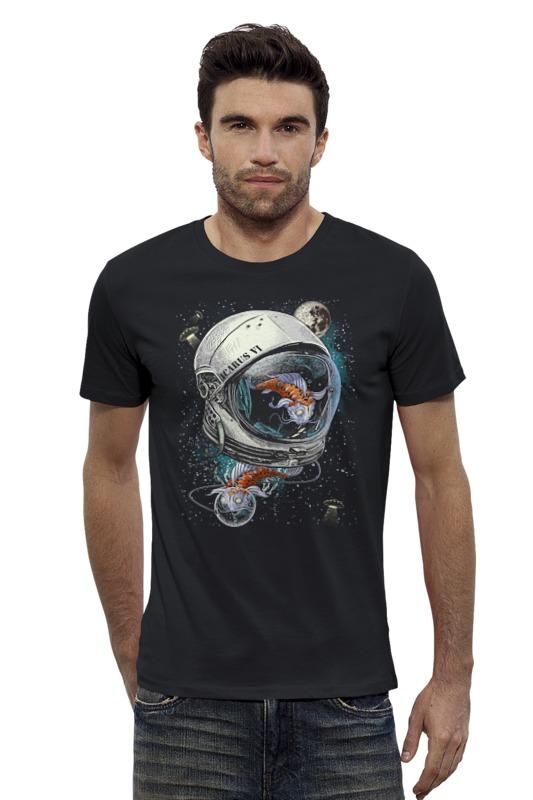 Футболка Wearcraft Premium Slim Fit Printio Карп космонавт футболка wearcraft premium slim fit printio космонавт
