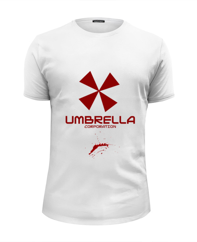 Футболка Wearcraft Premium Slim Fit Printio Resident evil: umbrella corporation сумка printio resident evil umbrella corporation