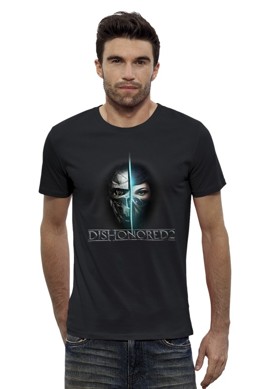 Футболка Wearcraft Premium Slim Fit Printio Dishonored 2 футболка wearcraft premium printio 62 2% в саратове