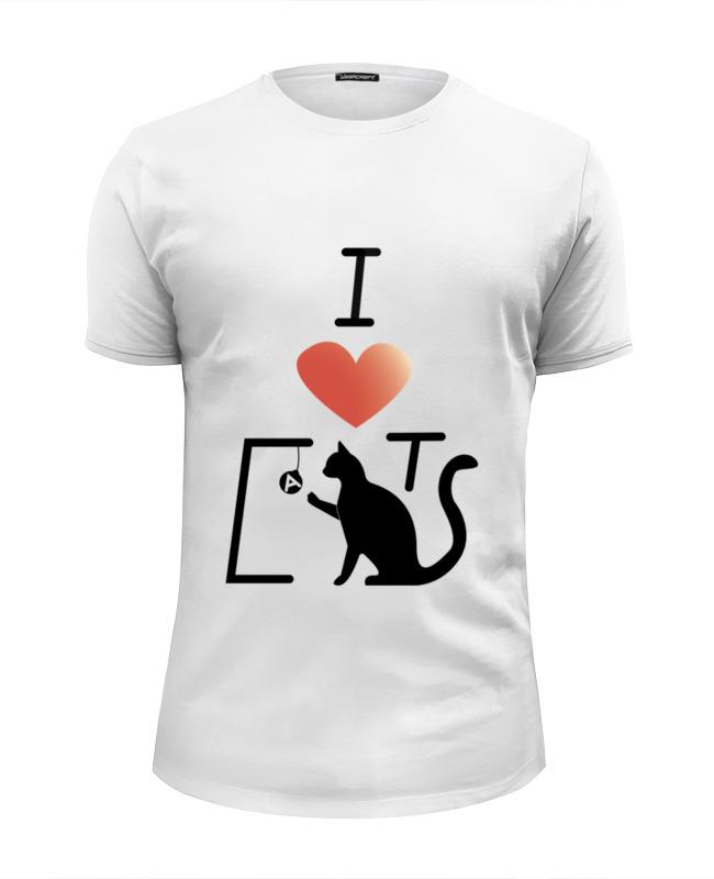 Printio Я люблю кошек футболка wearcraft premium printio кошечки