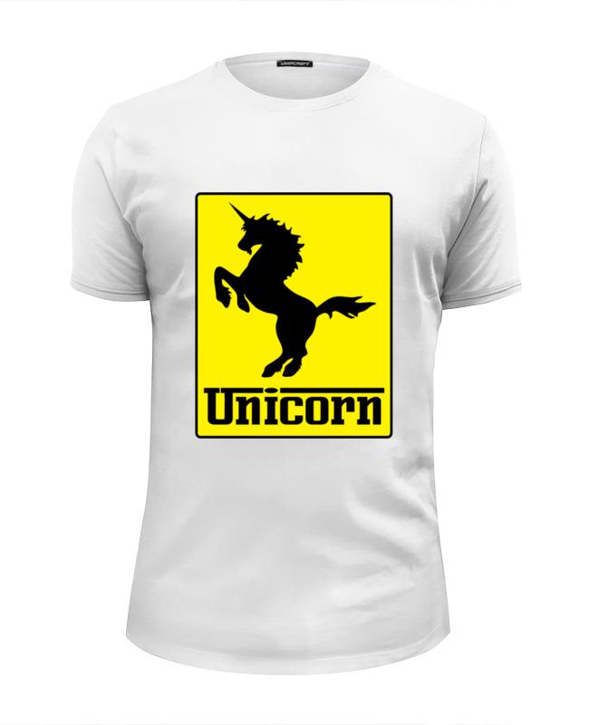 Футболка Wearcraft Premium Slim Fit Printio Unicorn x ferrari футболка wearcraft premium printio ferrari f40