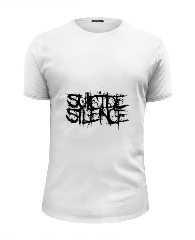 Футболка Wearcraft Premium Slim Fit Printio Silence футболка in silence феникс черный xl