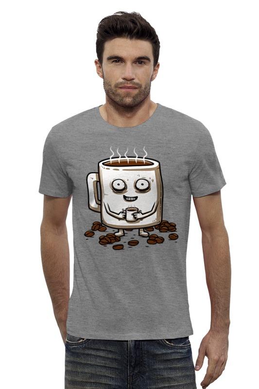 Футболка Wearcraft Premium Slim Fit Printio Кофе (coffee) футболка wearcraft premium slim fit printio coffee time время кофе
