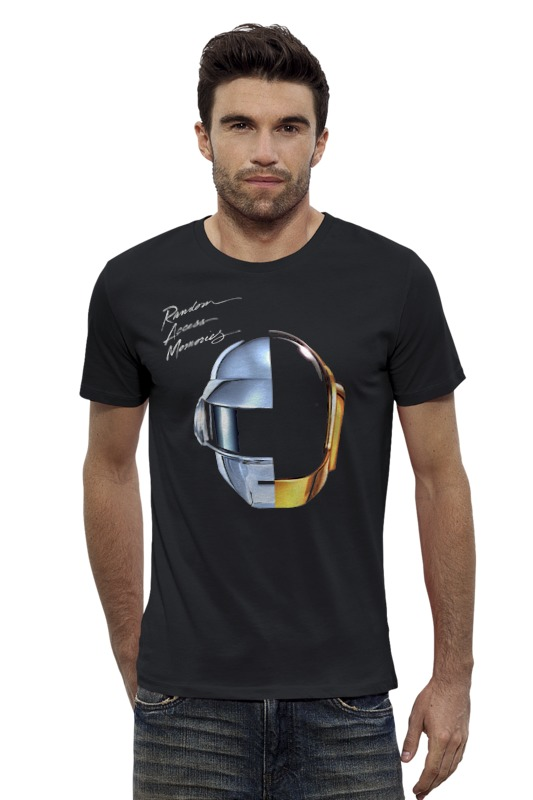 Футболка Wearcraft Premium Slim Fit Printio Daft punk - random access memories футболка wearcraft premium printio punk rock