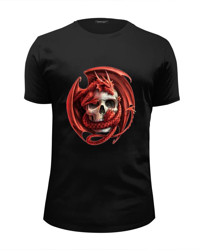 Футболка Wearcraft Premium Slim Fit Printio Череп футболка wearcraft premium slim fit printio череп