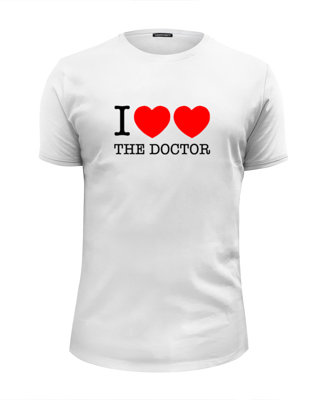 лучшая цена Printio Я люблю доктора