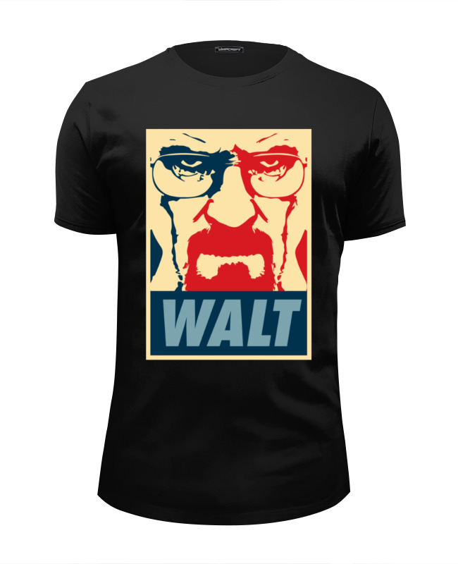 Футболка Wearcraft Premium Slim Fit Printio Walter white (breaking bad) футболка wearcraft premium slim fit printio god of meth breaking bad