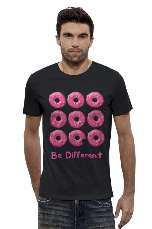 Футболка Wearcraft Premium Slim Fit Printio Пончики симпсоны спрингфилд игра как пончики