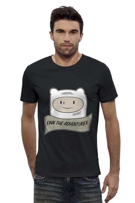 Футболка Wearcraft Premium Slim Fit Printio Время приключений (adventure time) футболка wearcraft premium slim fit printio время чая