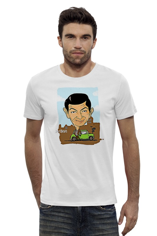Футболка Wearcraft Premium Slim Fit Printio Mr.bean футболка wearcraft premium slim fit printio avengers