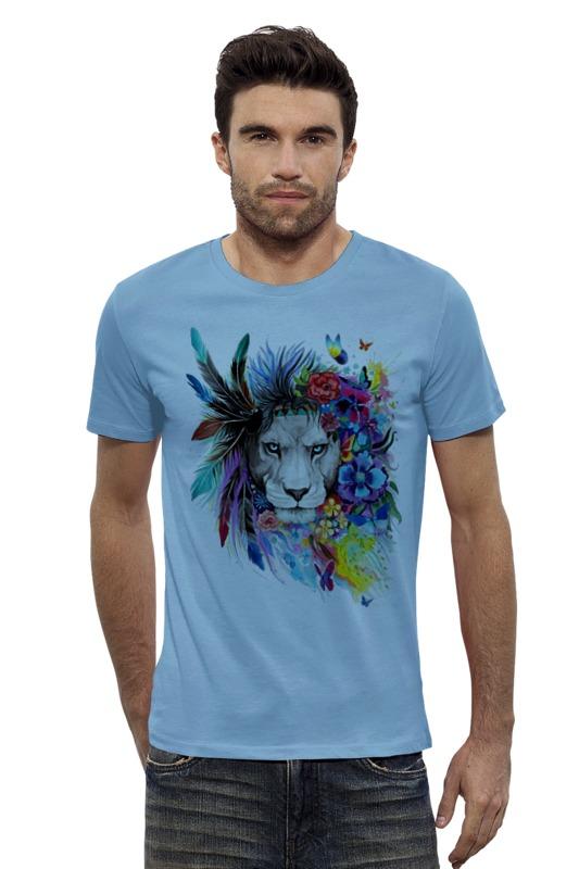 Футболка Wearcraft Premium Slim Fit Printio Царь зверей футболка классическая printio лев царь зверей
