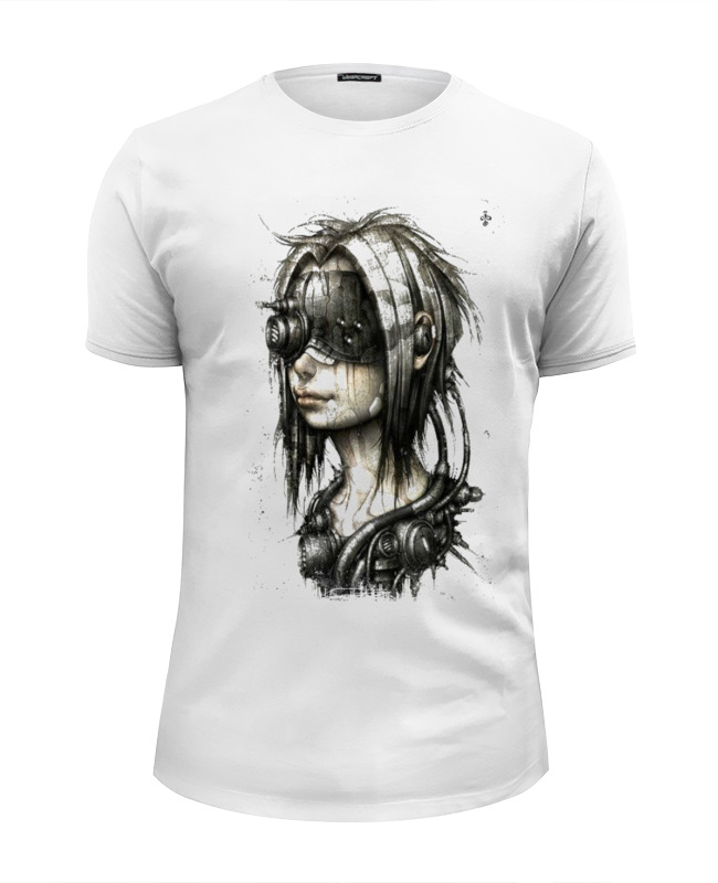 Футболка Wearcraft Premium Slim Fit Printio Стим-панк футболка wearcraft premium printio панк рок кафе