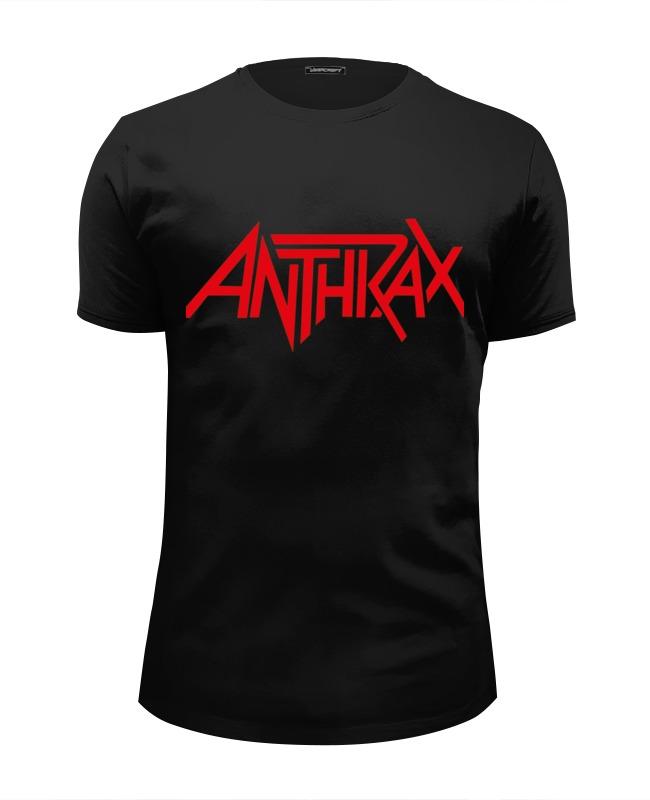 Футболка Wearcraft Premium Slim Fit Printio Anthrax (антракс) anthrax anthrax worship music 2 lp