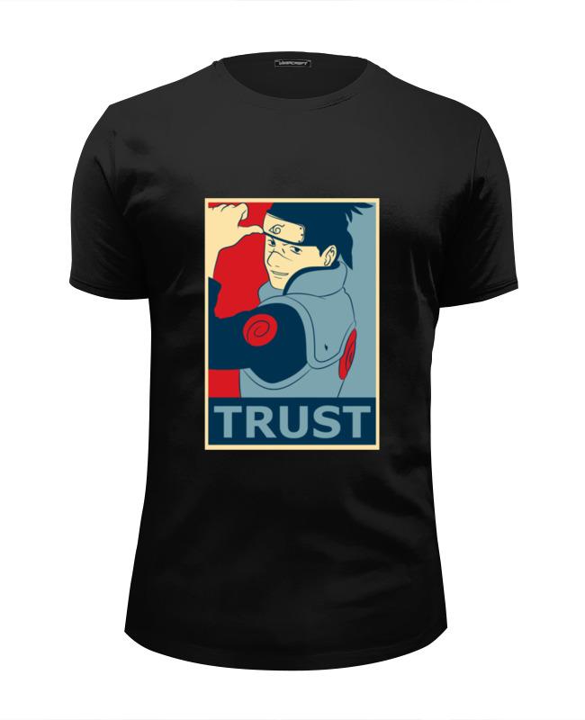 Футболка Wearcraft Premium Slim Fit Printio Naruto (наруто) футболка wearcraft premium slim fit printio naruto наруто