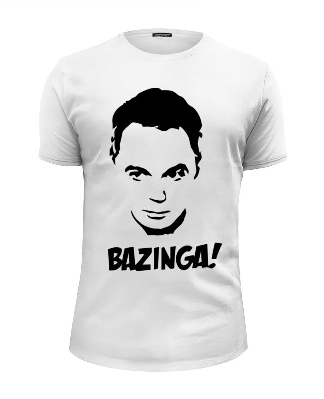 Футболка Wearcraft Premium Slim Fit Printio Bazinga! (шелдон) футболка wearcraft premium slim fit printio bazinga