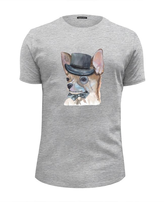 Футболка Wearcraft Premium Slim Fit Printio Чихуа собака