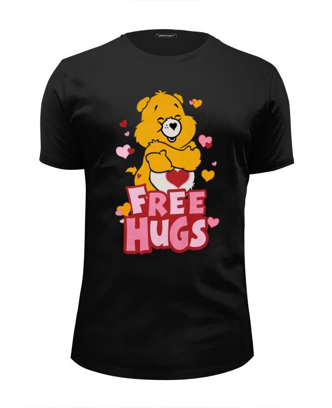 цена на Футболка Wearcraft Premium Slim Fit Printio Free hugs