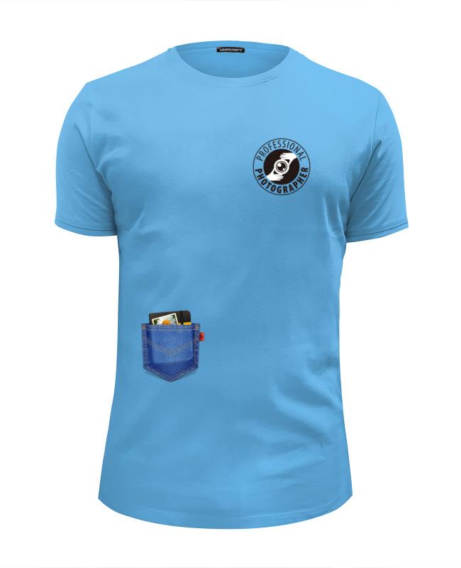 Футболка Wearcraft Premium Slim Fit Printio Фото-кармашки футболка фото