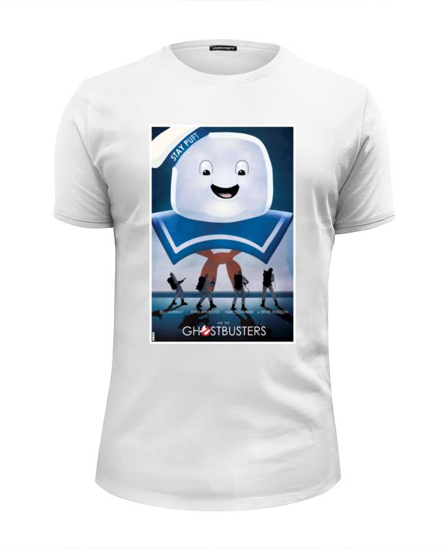 Футболка Wearcraft Premium Slim Fit Printio Охотники за привидениями отзывы