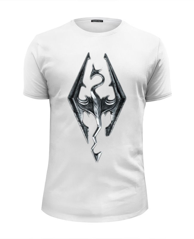 Футболка Wearcraft Premium Slim Fit Printio Skyrim