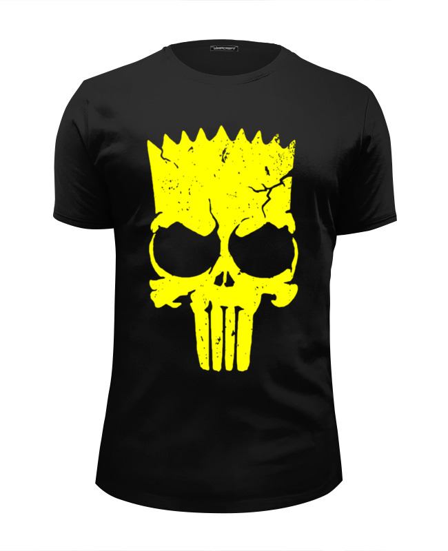 Футболка Wearcraft Premium Slim Fit Printio The punisher (the simpsons) футболка wearcraft premium slim fit printio the crow