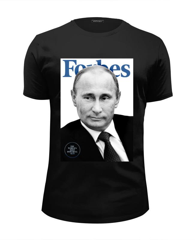 Футболка Wearcraft Premium Slim Fit Printio Putin forbes футболка рингер printio putin forbes