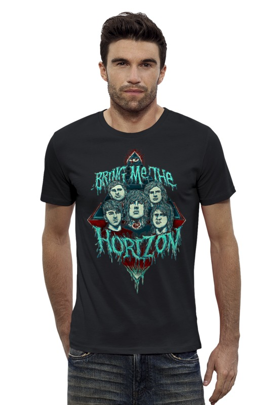 Футболка Wearcraft Premium Slim Fit Printio Bring me the horizon футболка wearcraft premium printio bring me the horizon молитва