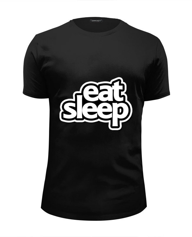 Футболка Wearcraft Premium Slim Fit Printio Eat sleep футболка wearcraft premium slim fit printio nice to eat you