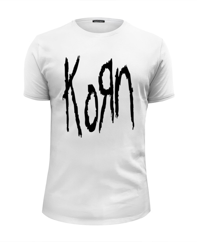 Футболка Wearcraft Premium Slim Fit Printio Korn (koяn) korn korn paradigm shift 2 lp