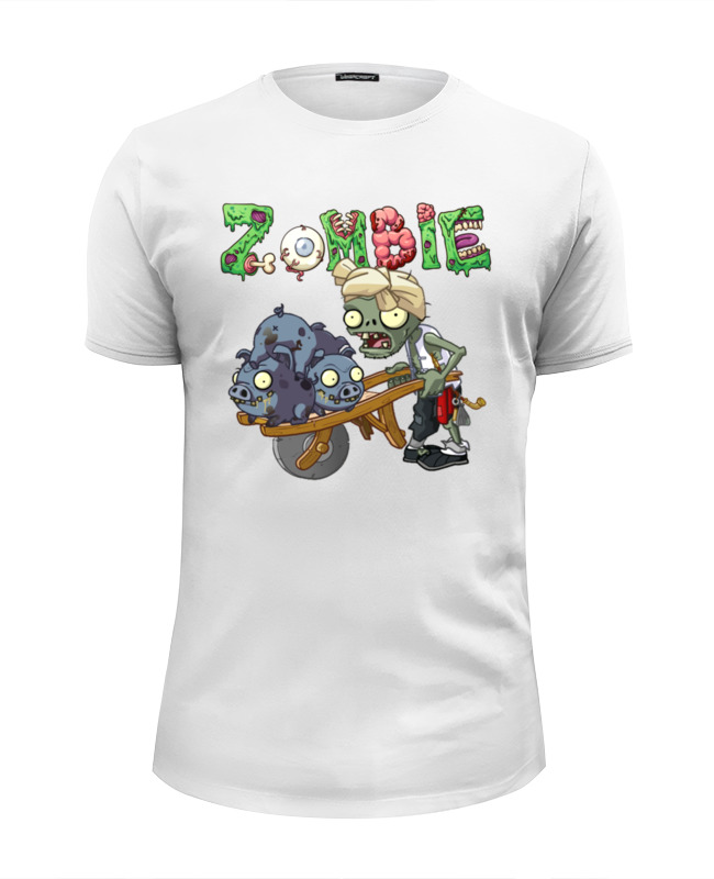 Printio Zombie футболка wearcraft premium slim fit printio zombie cat