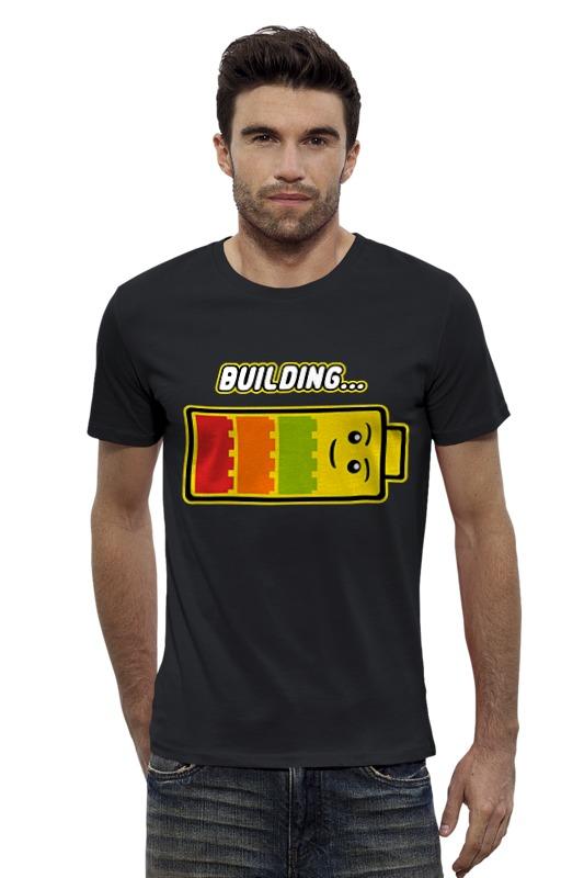 Футболка Wearcraft Premium Slim Fit Printio Лего (строительство) футболка wearcraft premium slim fit printio мстители лего
