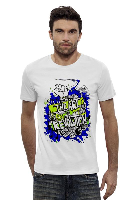 Футболка Wearcraft Premium Slim Fit Printio The art revolution футболка wearcraft premium slim fit printio psy art arsb