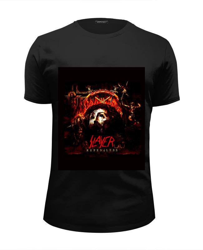 Футболка Wearcraft Premium Slim Fit Printio Slayer repentless 2015 футболка с полной запечаткой мужская printio slayer repentless 2015