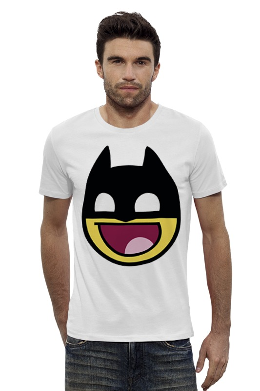 Футболка Wearcraft Premium Slim Fit Printio Batman футболка wearcraft premium slim fit printio ice king x batman