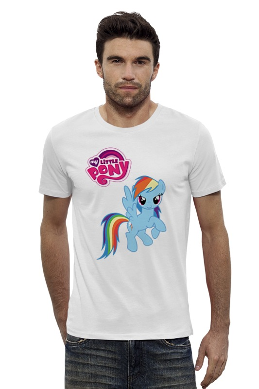Футболка Wearcraft Premium Slim Fit Printio My little pony girl футболка wearcraft premium slim fit printio my government fucks me every day