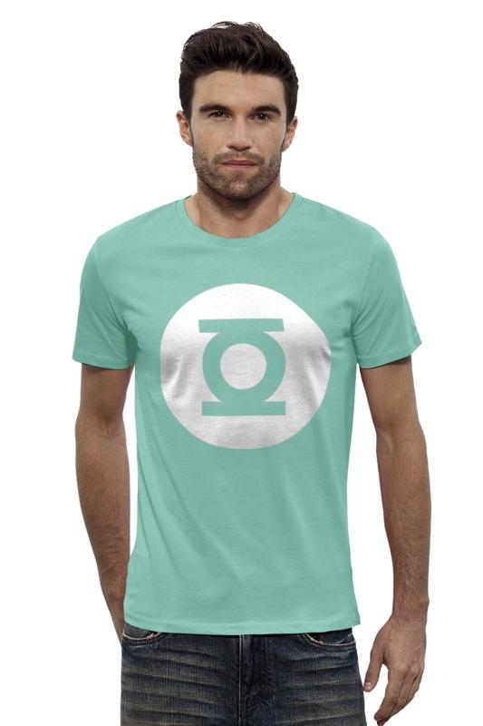 Футболка Wearcraft Premium Slim Fit Printio Зелёный фонарь налобный фонарь sunree l40 ipx8 4led