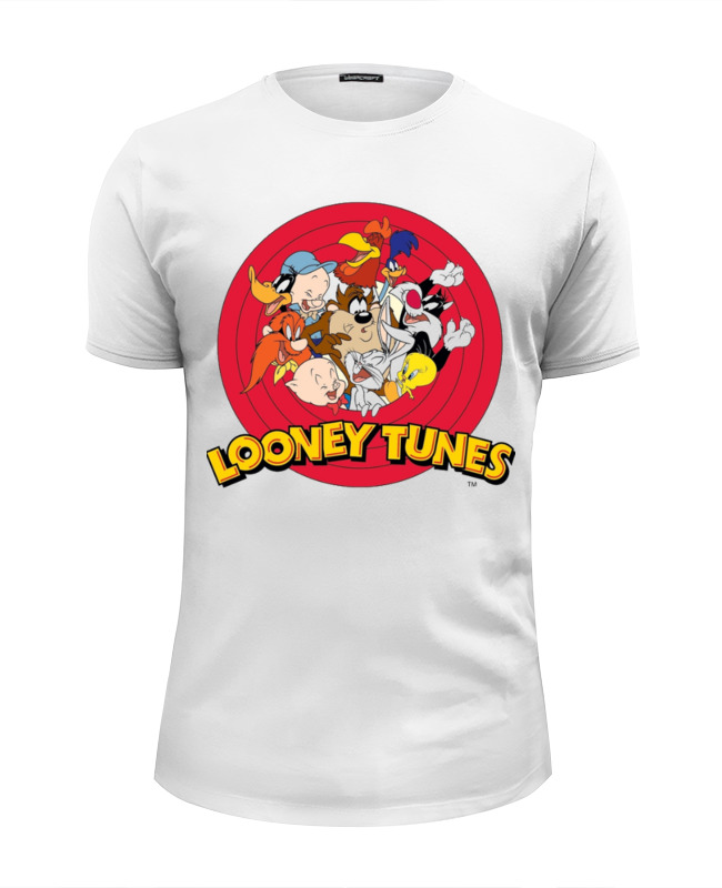 Футболка Wearcraft Premium Slim Fit Printio Looney tunes футболка print bar looney tunes